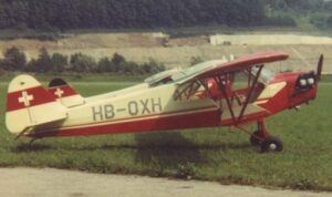 HB-OXI J-3C-65 Cub (12896) at Lugano/Agno on 1 August 1967