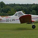 Piper PA25-235D Pawnee OO-LVN